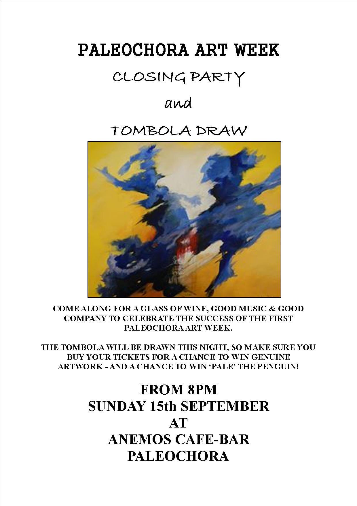 Closing Party Art Week