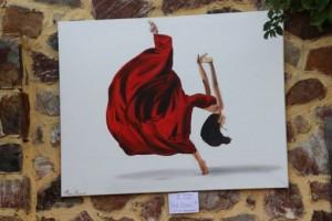 Efi Fiotakis - Red Dress