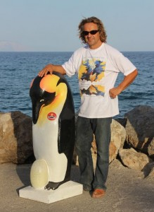 The creator of the Pinguin