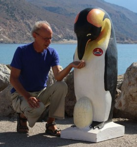 Ralf Filges feeded Pale the Pinguin
