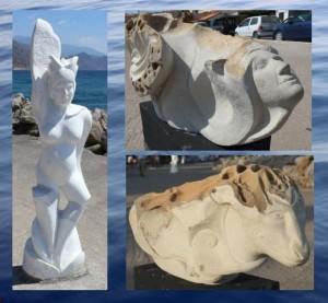 Stella Dutz sculptures