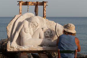 Artist at work: Der Engel und der Tod